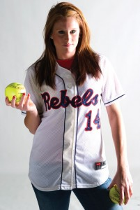 REBEL WITHOUT A CAUSE - Northwest product and Rhome resident Brittany Barnhill finished her college career at Ole Miss in May. She is now preparing for the next chapter in her life, including graduation. Barnhill is the 13th feature in a series about local personalities. Messenger photo by Joe Duty