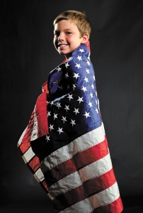 ALL-AMERICAN BOY - Dalton Westray of Boyd was born Sept. 11, 2001. His parents, David and Tracie Westray, make efforts every year to balance the day of remembrance  with his birthday celebration. Messenger photo by Joe Duty