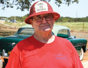 SECOND RETIREMENT - After a 39-year firefighting career that included 28 years at Fort Worth and 11 years starting and leading the Sand Flat Volunteer Fire Department in west Wise County, Foy Mitchell has retired, again. He celebrated his 75th birthday July 4 and says he knows his limitations. Submitted photo by Troy Kehoe