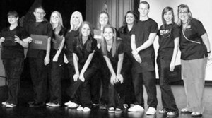 CLASS OF 2012 - CNA instructor Allison Taylor, far right, poses with the Weatherford College CNA high school students. Submitted photo