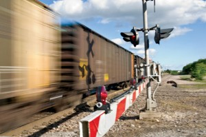 CROSSING THE LINE - Four people have been killed by trains at crossings in Wise County in the past year, including three pedestrians in Alvord and one truck driver near Bridgeport. The impact of these tragedies is not just felt by the communities but also by the train operators. Messenger photo by Joe Duty