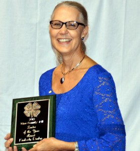LEADER OF THE YEAR - Kimberley Dunlap of Slidell/Greenwood 4-H was named Leader of the Year.