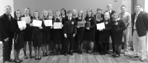 ONE OF THE BEST - The Decatur FFA chapter was named one of the top five chapters in the state at last month's convention in Corpus Christi. Submitted photo