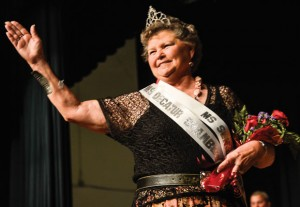 MS. SENIOR WISE - Nellie Redwine, sponsored by the Decatur Chamber of Commerce, was named Ms. Senior Wise at the Taste of Wise Look Local event. Redwine was named Miss Wise County in 1963, but she withdrew from the running for Miss Texas to marry her sweetheart, James. Messenger photo by Joe Duty