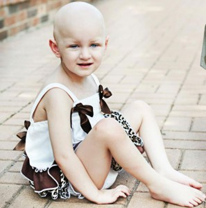 BATTLING FOR CARLY - A fundraiser benefiting Carly Berkley Hood, 3, of Bridgeport is Saturday at Jewel Park in Chico. Carly has been battling metastatic medulloblastoma for a year. Submitted photo