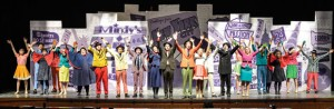 BREAK A LEG - Decatur High School theater arts program kicks off its theatrical season tomorrow with 'Guys and Dolls Jr.' The musical runs 7 p.m. Thursday, Friday, Saturday and 2 p.m. Sunday at the high school theater. Cost is $5 for students and $7 for adults. Messenger photo by Joe Duty