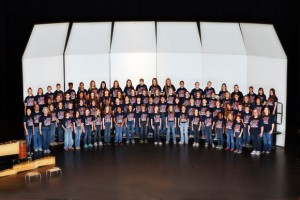 HONOR CHOIR - The Northwest ISD fifth-grade honor choir will perform at the 2013 Texas Music Educators Association (TMEA) Conference in San Antonio. Only five elementary choirs in the state are selected to perform each year. Submitted photo