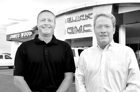 James Wood Motors Promotes One Hires One