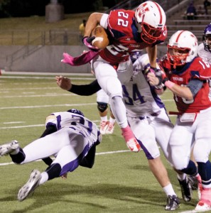 TEXANS ROLL - Northwest's Dakota Chavis and the rest of the Texans look to take down Richland this week. Messenger photo by Jimmy Alford