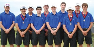 TOURNEY CHAMPS - The Decatur Eagles two golf teams took first and fourth place at the Argyle Invitational Wednesday. The teams consist of Dylan Rottner, Drew Jones, Jansen Alker, Dylan Erwin, Cade Lamirand, Eric Gage, Charlie Shannon, Kyle Hubbard, Matt Jones and Colton Horton. Submitted photo
