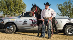 DOG IN THE FIGHT - After being hampered for the past three years from a persistent injury, bulldogger K.C. Jones qualified this year for the Wrangler National Finals Rodeo in Las Vegas for the sixth time. He's bulked up and hopes to capture the world title in steer wrestling despite being the oldest competitor in the event. Messenger photo by Joe Duty