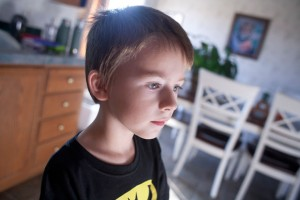 AUTISM - Like Xander, many autistic children often have difficulties looking others in the eyes and will have a hard time with social interactions. Messenger photo by Jimmy Alford