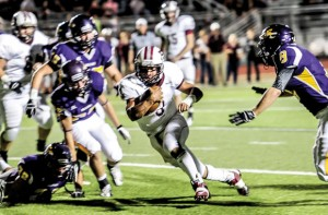 HIGH ACCLAIM - Bridgeport's Gabe Huerta was named as a first team running back to the District 9-3A all-district team earlier this week. Huerta rushed for 1,288 yards this season. Messenger photo by Joe Duty