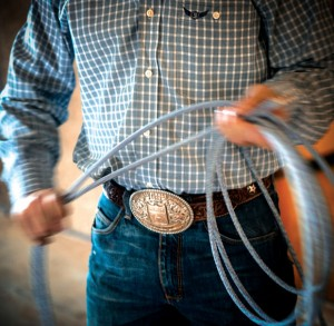 ROPING HISTORY - Trevor Brazile sits in solid position to win a 10th all-around world title at WNFR. The record before Brazile was seven all-around world titles set by Ty Murray. Messenger photo by Joe Duty