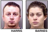 Couple charged after leaving 2-year-old home alone