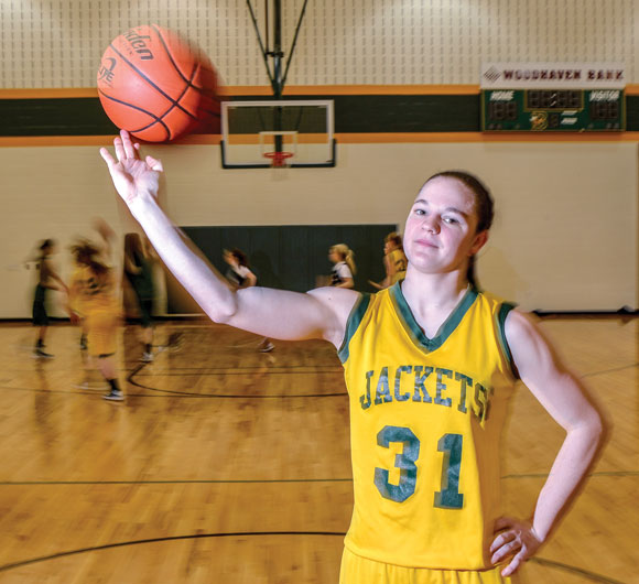 LOOKING AHEAD - Shae Williams hopes to be playing full contact basketball again by June. Messenger photo by Joe Duty