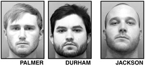 Trio busted for pot operation