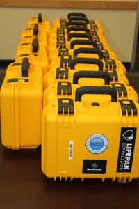 HEARTFELT DONATION - Wise Regional Health System donated an automated external defibrillator to each of the county's fire departments last December. Each donation is valued at $2,200 for the device, pads for adults, pads for pediatric patients, a hard storage case, training manuals and spare adults pads. Submitted photo