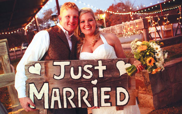 Mr. and Mrs. Cade Ryan Hodgkins