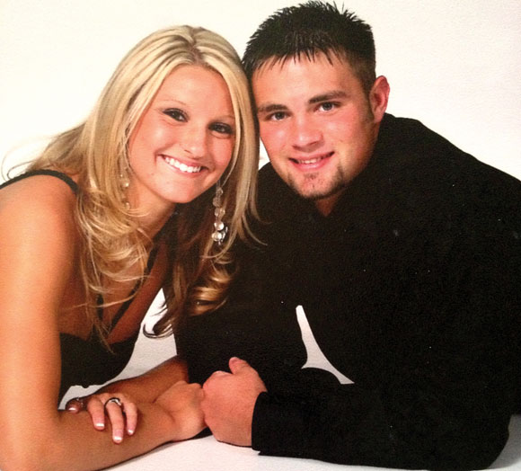 YOUNG LOVE - Ashlee and Jerrod began dating in 2003, the summer before their sophomore year at Decatur High School. Submitted photo