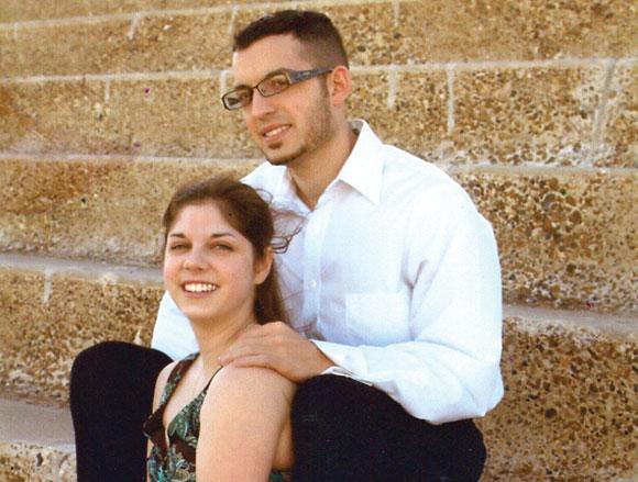 Amy Arlena Cude and Andrew Jarod Perez
