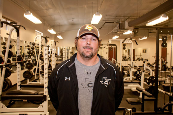 LEADING WINNERS - Chico powerlifting coach Heath Tullous is in his first year with Chico and has turned the program into a powerhouse. Messenger photo by Jimmy Alford