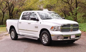 BIG SELLER - The 2013 Dodge Ram 1500 pickup is a big truck that offers full-sized SUV comfort on the interior.