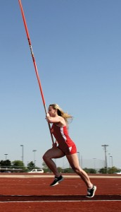 HEADING WEST - Desiree Freier will look to bring home a regional title from Lubbock this weekend. Messenger photo by Joe Duty
