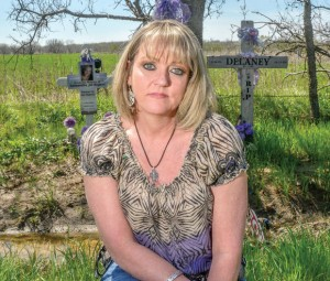 NOT LOST IN VAIN - Eva Czerniak rallied community and political support to get the stretch of U.S. 380 between Denton and the Wise County line widened to four lanes in the wake of a fatal wreck involving her daughter, Samantha Rogers and her daughter's friend, Delaney Mancil. Messenger photo by Joe Duty