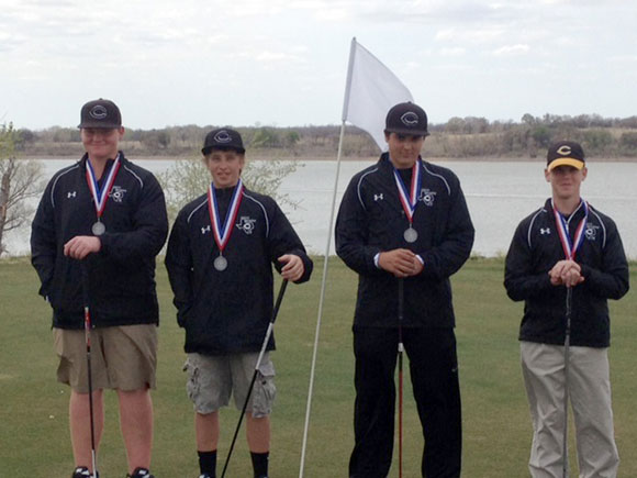 SECOND PLACE - The Chico Dragons finished second at their district golf tournament qualifying them for regionals next week. Submitted photo