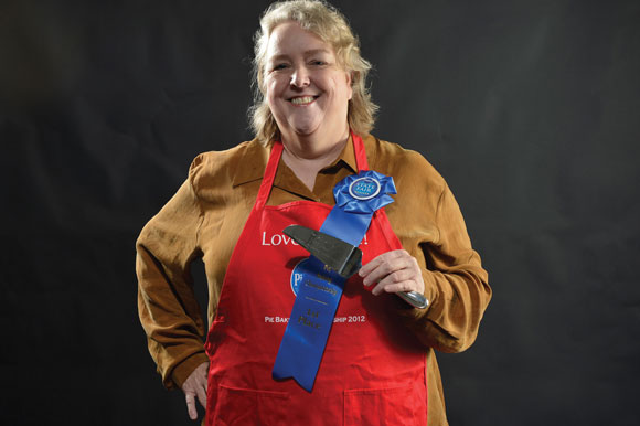 SHOT AT A MILLION - Paradise's Helen Fields will compete for her share of $1 million and appliances at the Pillsbury Bake-Off Nov. 10-12 in Las Vegas after her Honey and Bacon Brussels Sprouts Pizza recipe was one of 33 that garnered the most online votes last month. Messenger photo by Joe Duty