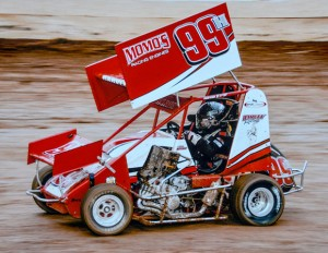 GETTING DIRTY - Harvey has already accumulated nearly 40 heat and feature wins. Submitted photo