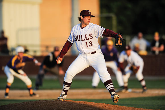 TOP HONOR - Bridgeport's Omar Martinez was named the District 9-3A Most Valuable Player earlier this week. At the plate he batted .419 and on the mound he had an ERA of 2.91. Messenger photo by Joe Duty