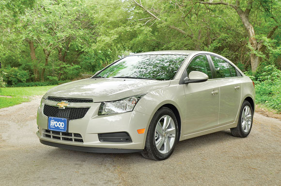 2014 Chevy Cruze Turbo Diesel. Messenger photo by Ken Roselle