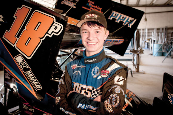 YOUNG GUN - In his short career Payton Pierce has shown a natural ability behind the wheel no matter what type of vehicle he's racing. Messenger photo by Jimmy Alford