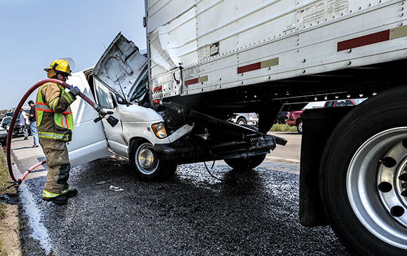 FATAL IMPACT - Austin J. Tolnay, 24, of Carrollton, died in surgery a day after colliding with the back of a southbound 18-wheeler Wednesday morning on U.S. 287 a few miles north of Decatur.