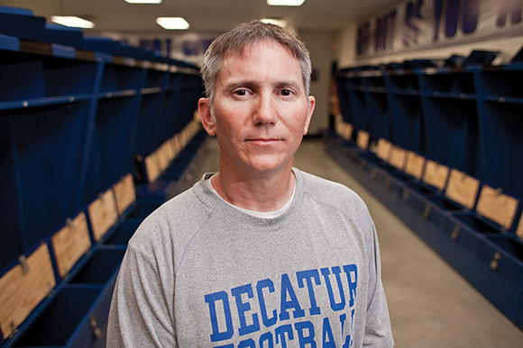 New scheme - Lavender brings his no-huddle attack to Decatur.