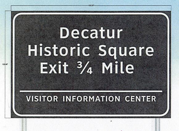 Highway Sign Idea