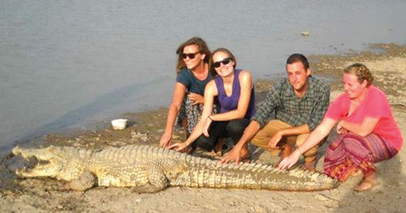 Sacred Crocodile of Sabou