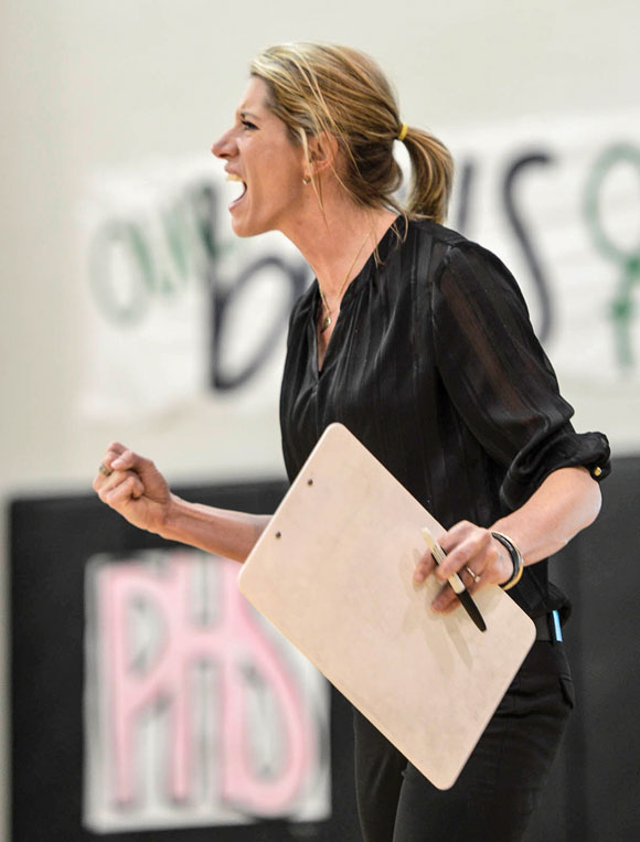 Boyd volleyball coach Dusty Crafton. Messenger photo by Joe Duty