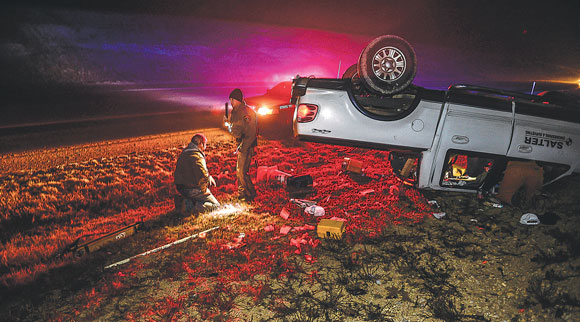 One Vehicle Rollover
