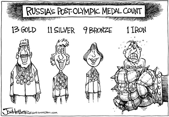 OpEd Medal Count