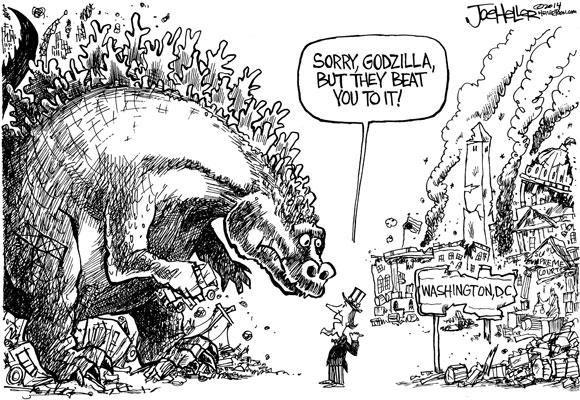 OpEd Godzilla