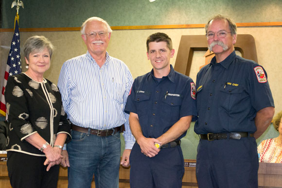 City Personnel Earns Honor