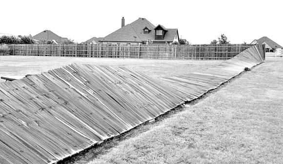 Flattened Fence