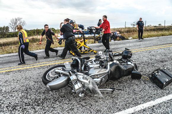 Rider Injured
