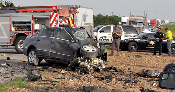 April Accident Claimed Four